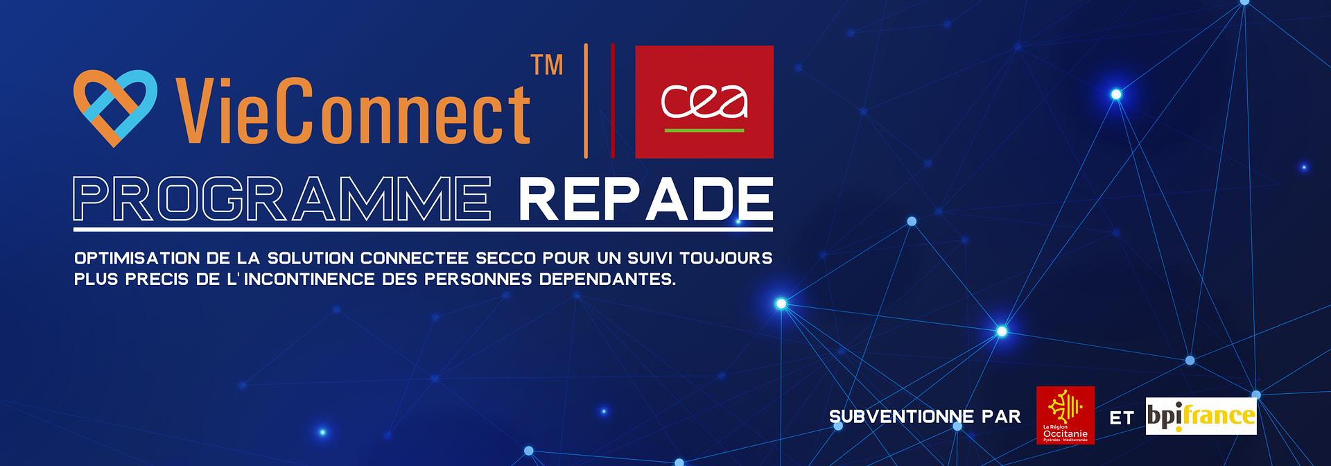 VieConnect & CEA : PROGRAMME REPADE