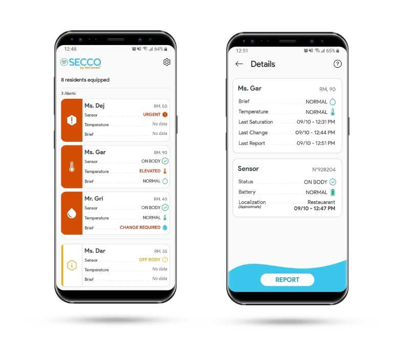 SECCO mobile application